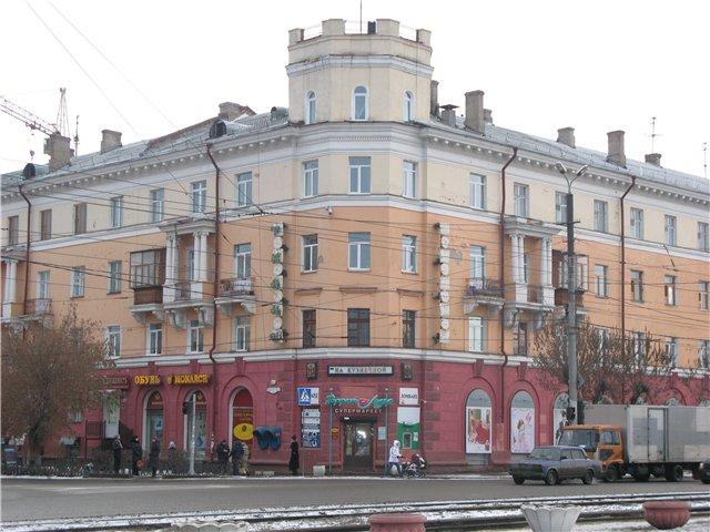 Сталинский ампир в Омске