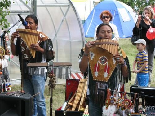 Индейская музыка в Омске