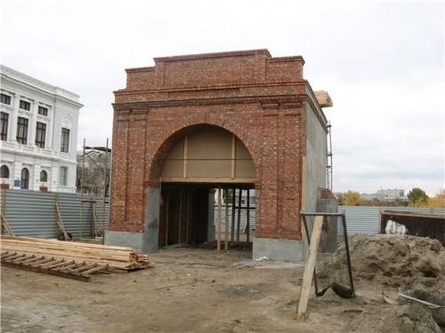 Восстановление Омских ворот