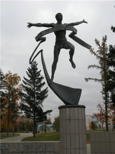Скульптура «Марафонец»