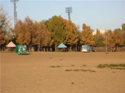 Пляж в парке Советского округа