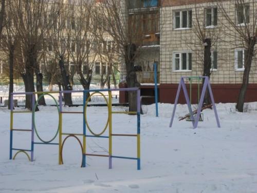 Таянье снега в Омске