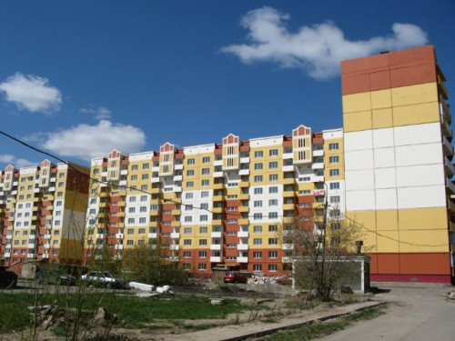 Микрорайон улицы Малиновского