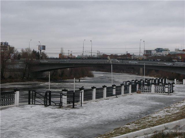 Мост Юбилейный в Омске