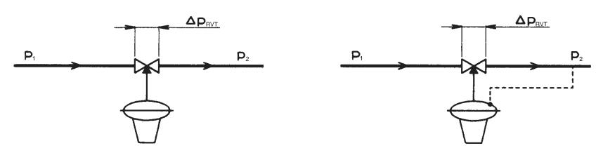 Рисунок монтажа регуляторов давления