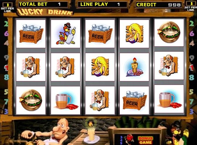 Игровые автоматы Черти (Lucky Drink)